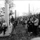 People gathered at the funeral of John F. Kennedy.  - 8x10 photo