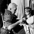 Anthony Quinn with a child.  - 8x10 photo