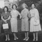 Queen Fabiola standing with women. - 8x10 photo