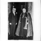 Pope John XXIII with man. - 8x10 photo