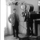 François Roland Truffaut standing. - 8x10 photo