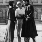 Henry Fonda with Audrey Hepburn and King Vidor.  - 8x10 photo