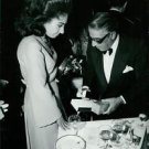 Maria Callas with Aristotle Onassis.  - 8x10 photo