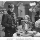 Charles Boyer and Marelene Dietrich in a movie scene. - 8x10 photo