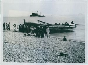 The Walmer Lifeboat, after the successful action to rescue the Swedish Timber Sc