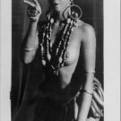 Josephine Baker pointing finger.  - 8x10 photo