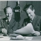 Stephen Potter and Robert Donat having a program in BBC Home Service, a tribute