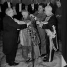 Pope John XXIII dressing up by people. - 8x10 photo