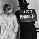 just married - 8x10 photo