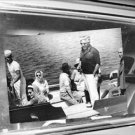 Jacqueline Kennedy with her husband Aristotle Onassis. - 8x10 photo