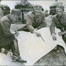 Left to right: Brig. Gen. Li Hsueh-pin, Lt. Gen. Soong Hsi-lien and Brig. Gen. C