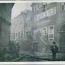 U.S. Troops attack Gemunden, Germany. 1945 - 8x10 photo