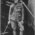 Winston Churchill  standing in uniform. - 8x10 photo