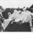 World War II. U.S. Army doctors perform operation out-of-doors - 8x10 photo