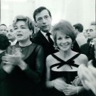 Simone Signoret with husband Yves Montand. - 8x10 photo
