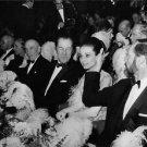 Rex Harrison, Audrey Hepburn and Mel Ferrer. - 8x10 photo