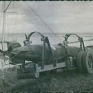 Human torpedo left behind by the Germans during World War II. 1944 - 8x10 photo