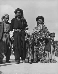Photograph of a family from Israel. - 8x10 photo
