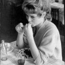 Brigitte Bardot eating berries. - 8x10 photo
