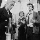 Catherine Deneuve and Françoise Sagan. - 8x10 photo