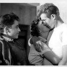 James Dean embracing a girl. - 8x10 photo