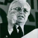 Portrait of Gerhard Martin.  - 8x10 photo