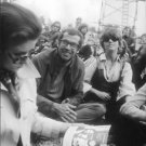 Roger Vadim sitting in crowded place. - 8x10 photo