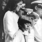 Jacqueline Kennedy Onassis with children.  - 8x10 photo