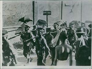 China-Japan War Manchurian 1926 - 8x10 photo