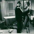 Brigitte Bardot dancing with man.  - 8x10 photo