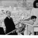 Jacqueline Kennedy with her son. - 8x10 photo