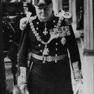 Winston Churchill posing. - 8x10 photo