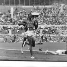 USA athlete leading the race during Olympics.- Sep 1960 - 8x10 photo