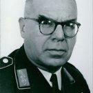 Portrait of Major General Hermann Plocher.  - 8x10 photo