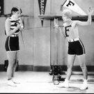 fencing practice - 8x10 photo