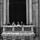 Pope John XXIII at balcony. - 8x10 photo