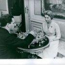 Man and woman playing chess.  - 8x10 photo