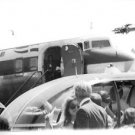 Jacqueline Kennedy going to board the plane. - 8x10 photo