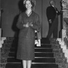 Queen Fabiola at staircase.  - 8x10 photo