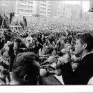 Robert F. Kennedy addressing crowd.  - 8x10 photo