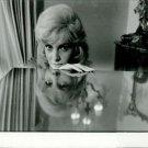 Gina Lollobrigida's face reflection.   - 8x10 photo