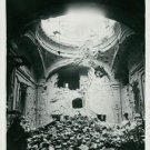 World War II. S. Maria Monteserrato-church in Napoli - 8x10 photo