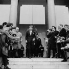 "Robert Francis ""Bobby"" Kennedy step down. - 8x10 photo"
