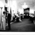 John F. Kennedy with his wife. - 8x10 photo