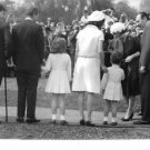 Jacqueline Kennedy Onassis at an event. - 8x10 photo