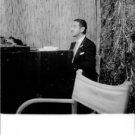 Jaime de Mora y Aragón playing on a piano. - 8x10 photo