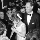 Audrey Hepburn and Mel Ferrer among the crowd. - 8x10 photo