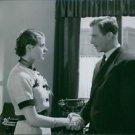 Ingrid Bergman and Lars Hanson in the film Valborgsmässoafton, 1935. - 8x10 phot