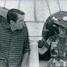 Romantic scene photo of Gregory Peck - 8x10 photo