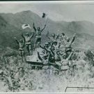 Japan-China War 1937-1945Japanese military men riding on top of the tanker - 8x